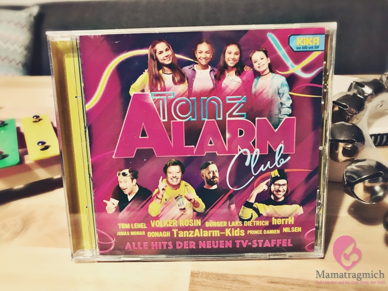 CD Cover Kika Tanzalarm Club